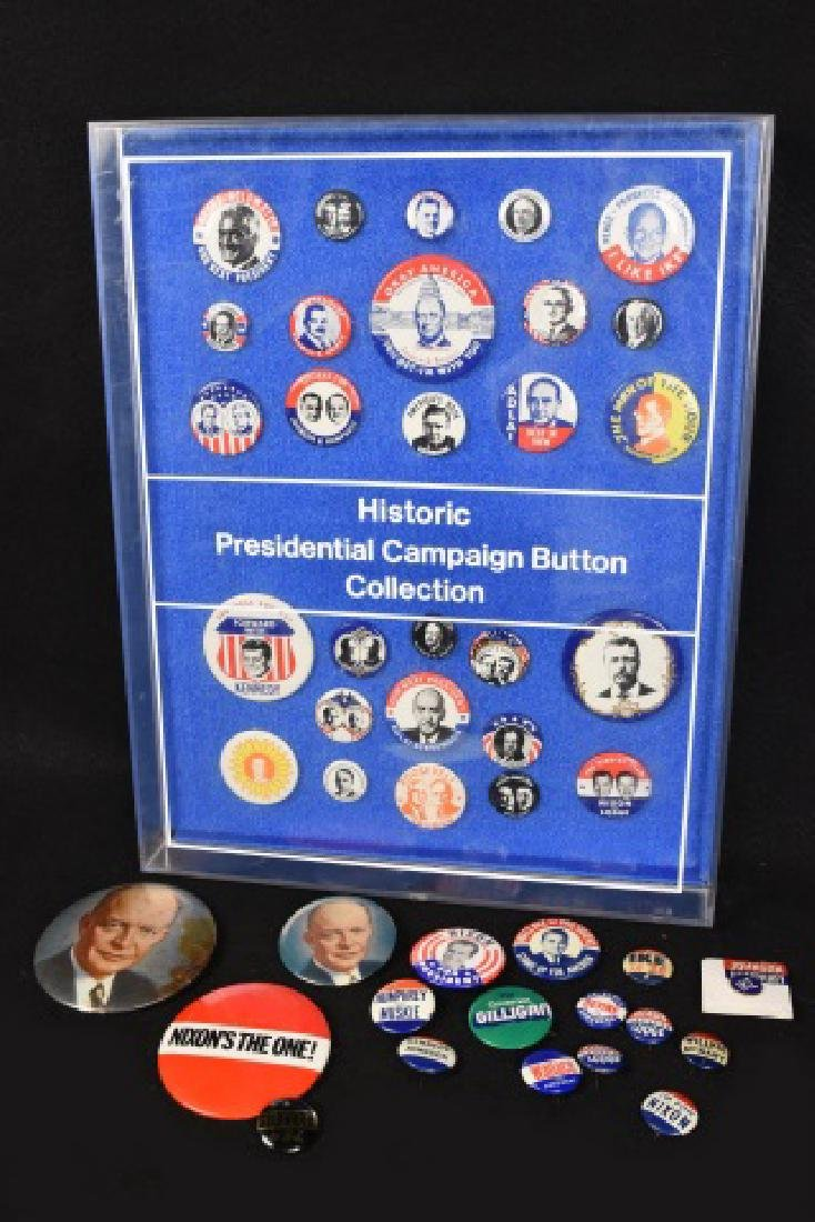 Historic Presidential Campaign Buttons/ Pinbacks