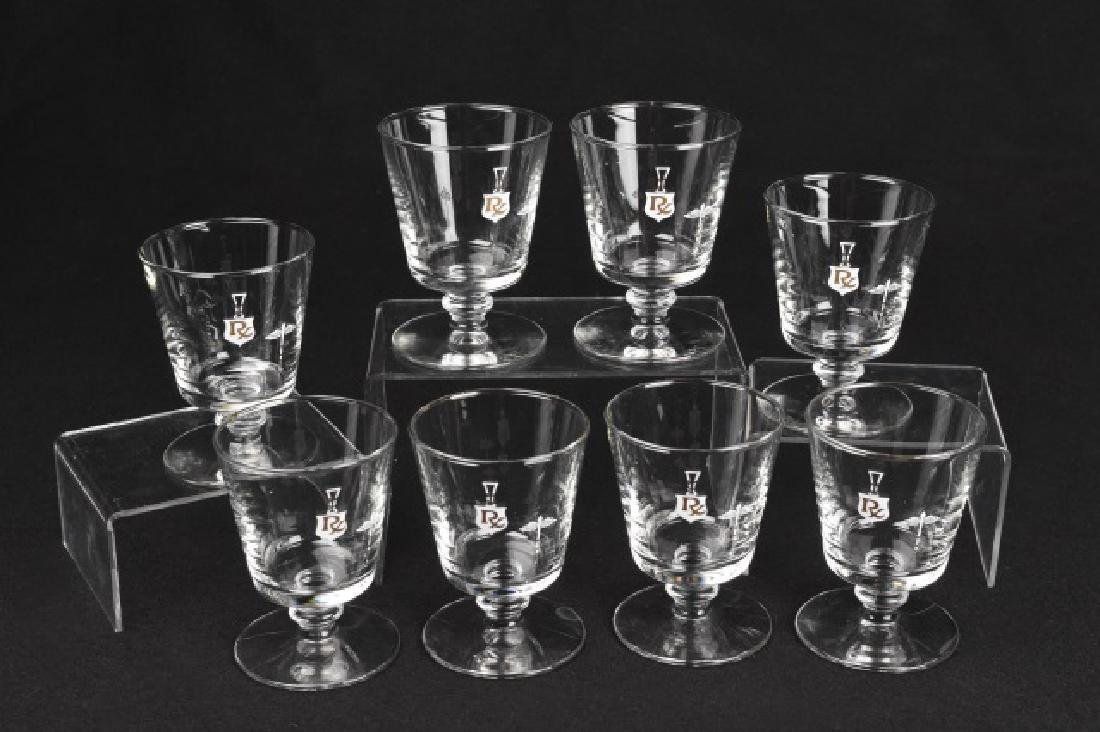 Collection of (8) Rx Pharmacy Barware