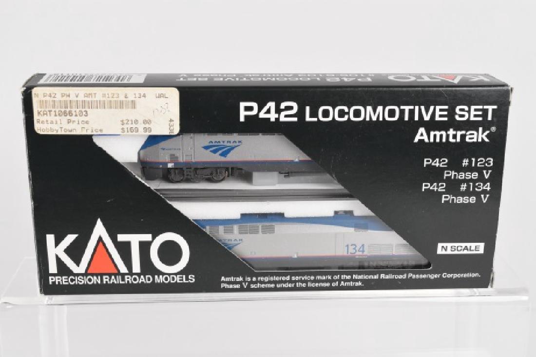 Kato PRM P42 Locomotive Set Amtrak N scale
