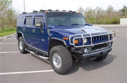 2007 Hummer H2, 56,000 mi.