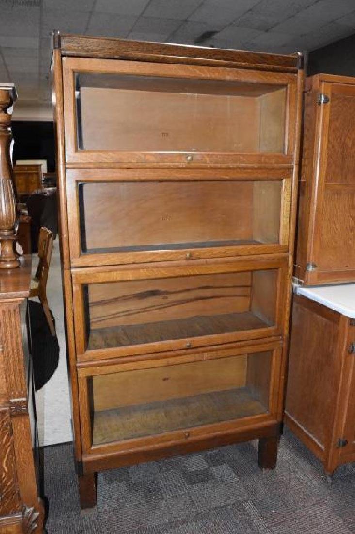 1900's Barrister Bookcase by Weis