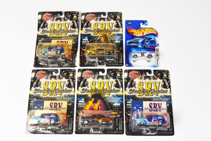 (5) Stevie Ray Vaughan Racing Champions