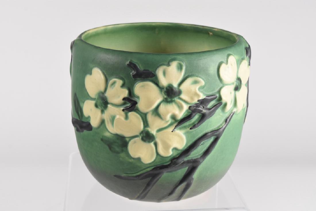 Roseville Pottery Dogwood II; Green
