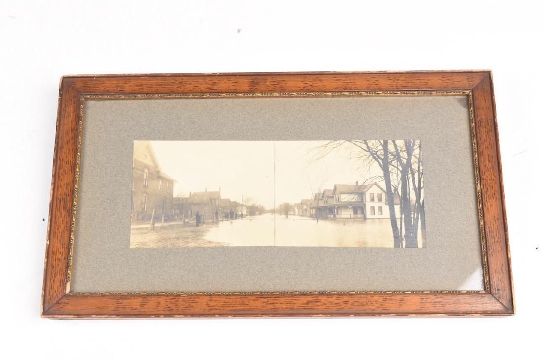 Fort Wayne Flood of 1913 B&W photos