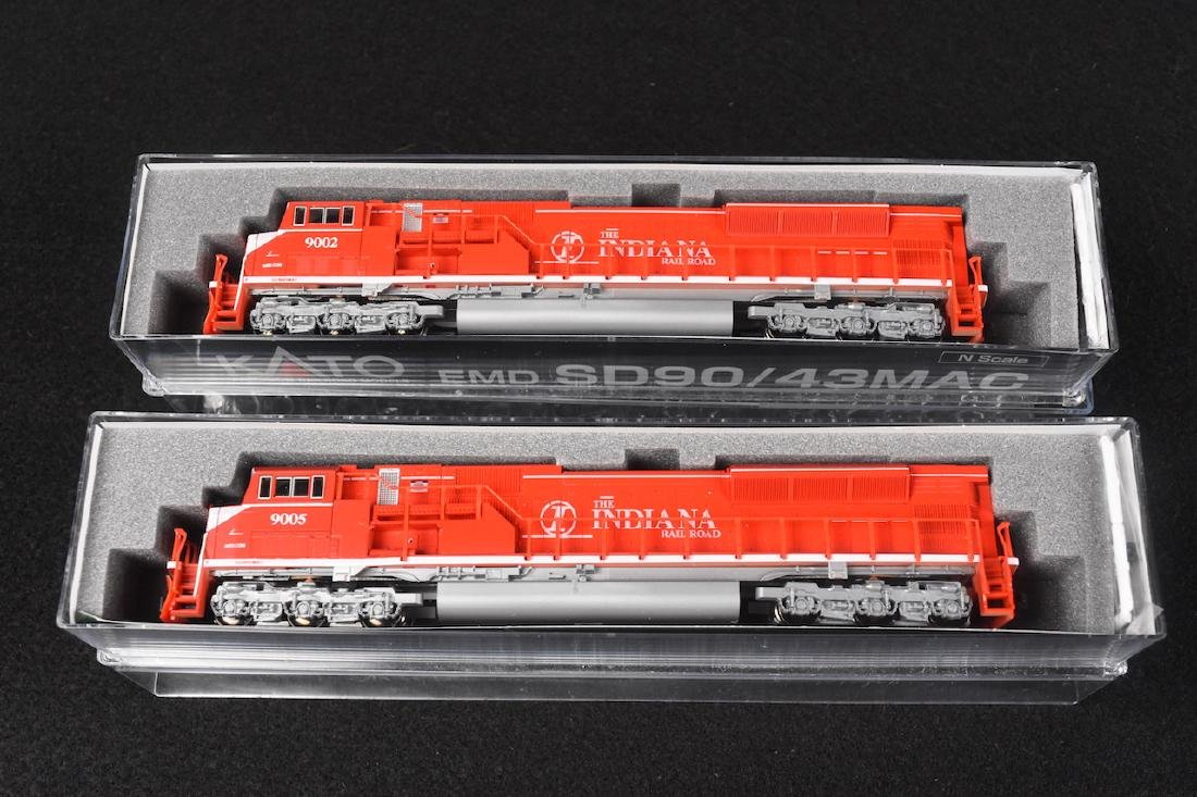 N Scale Kato SD 90/43 MAC IN Rail Road