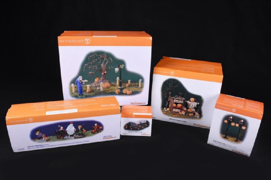 Collection Dept. 56 Halloween Series