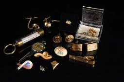 Collection of Mens Gold Jewelry