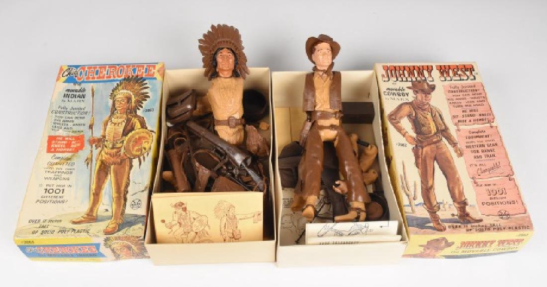 Johnny West & Chief Cherokee Action Figure