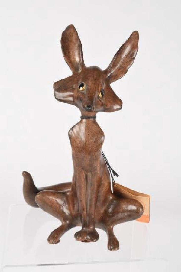 Vintage Freeman McFarlin Pottery; Coyote