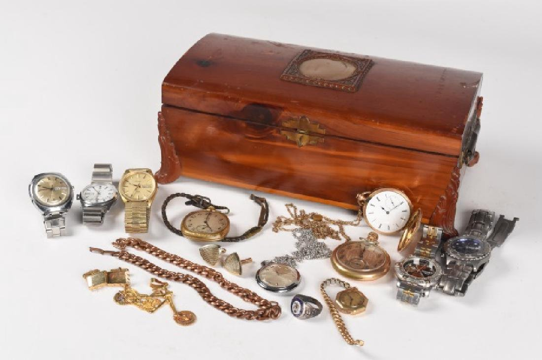 Collection of Mens Jewelry