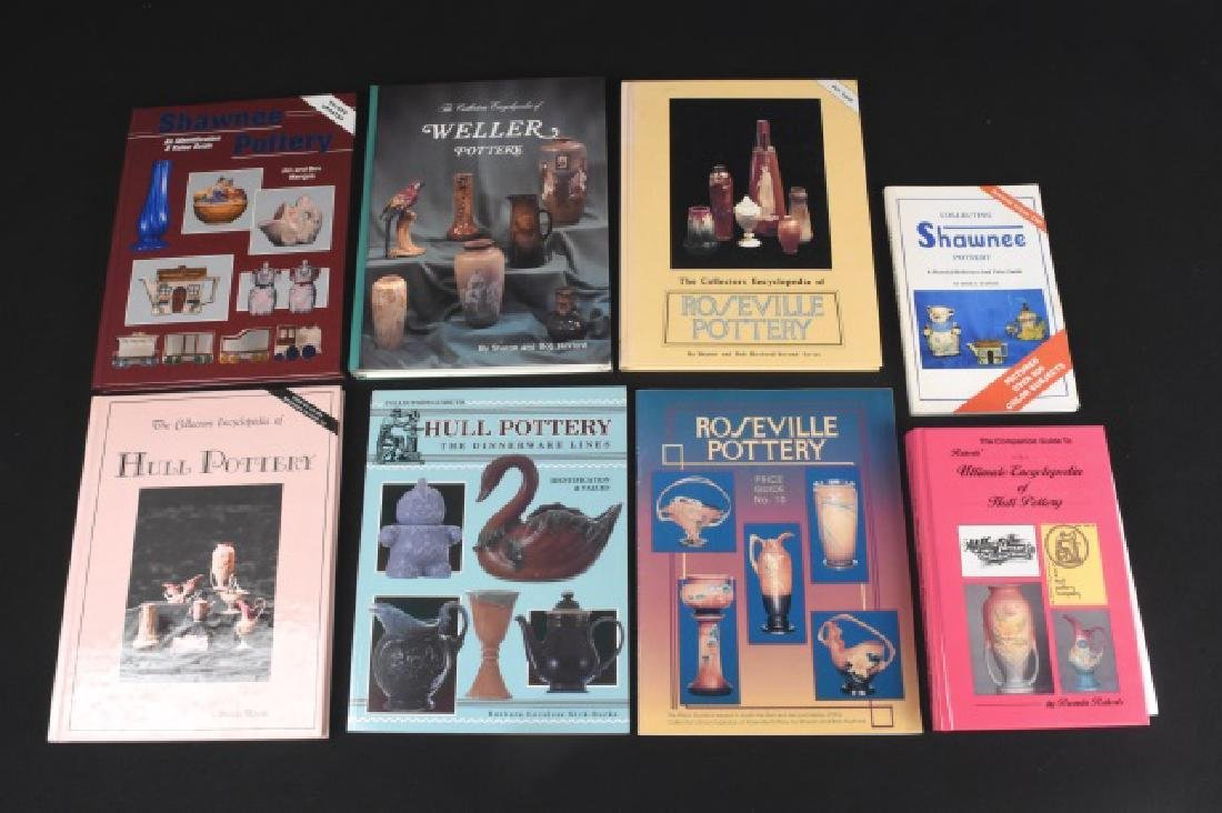 (8) Pottery Collector Books/ Guides