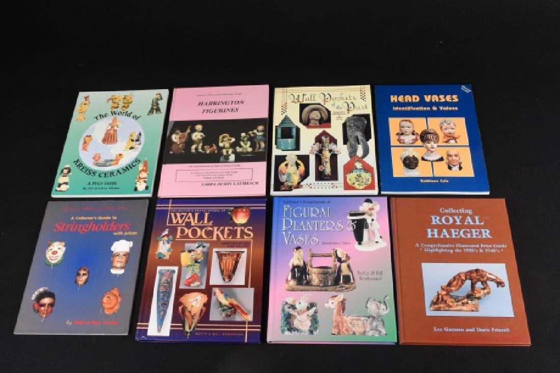 (8) Ceramic Collector Books