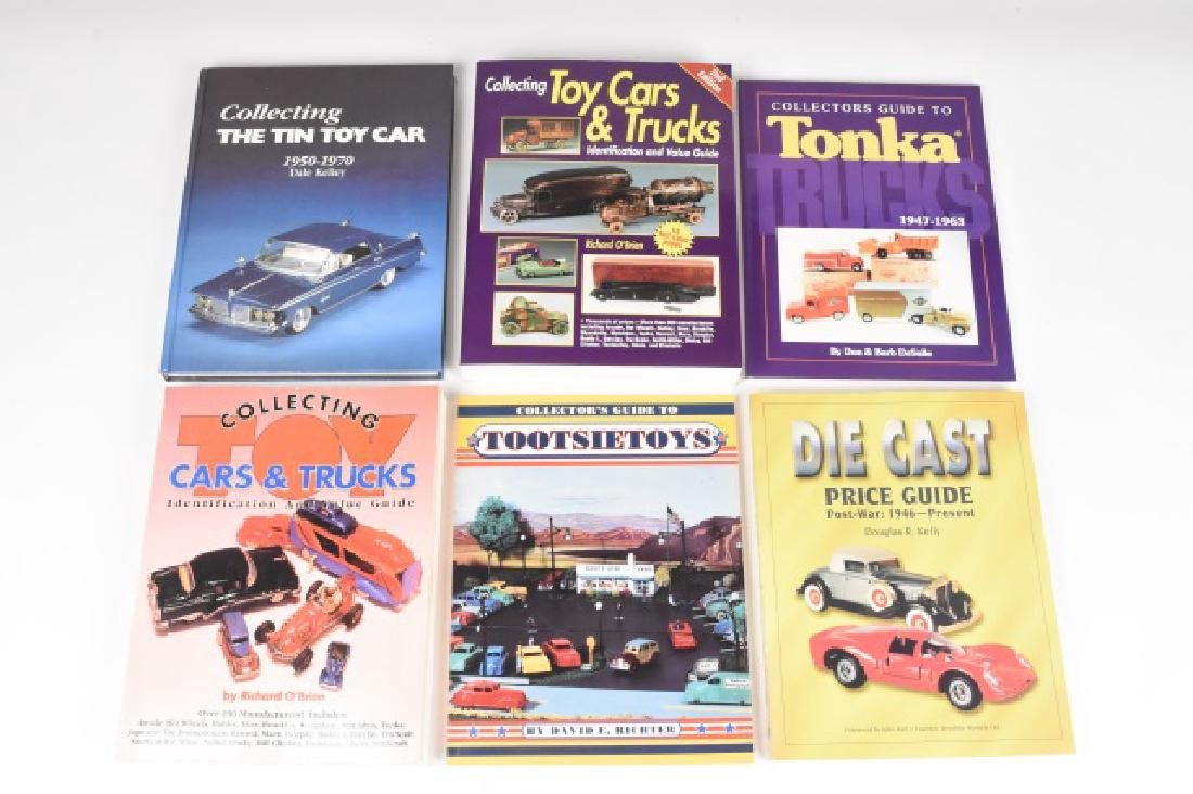 (6) Antique Toy Cars & Trucks Reference Books