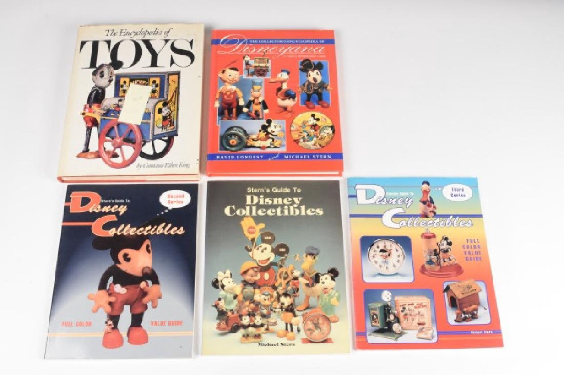 (5) Reference Guides to Disney Toys and Toys