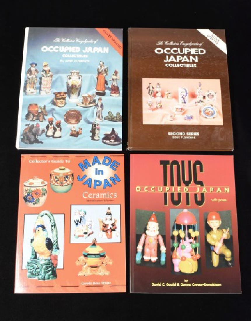 (4) Ref. Books Of Collectibles Made in Japan