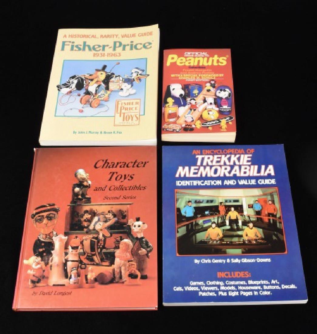 (4) Ref. Guides to Toys & Trekkie Gear