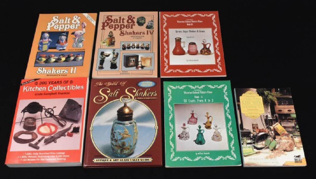 (7) Reference Books on Kitchen Collectibles