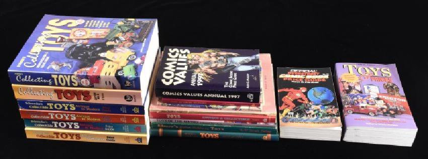 (16) Reference Books For Collectible Toys