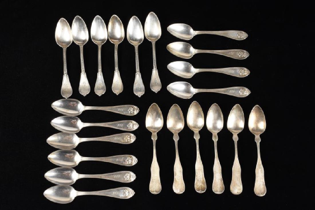 Collection of Coin Silver Spoons