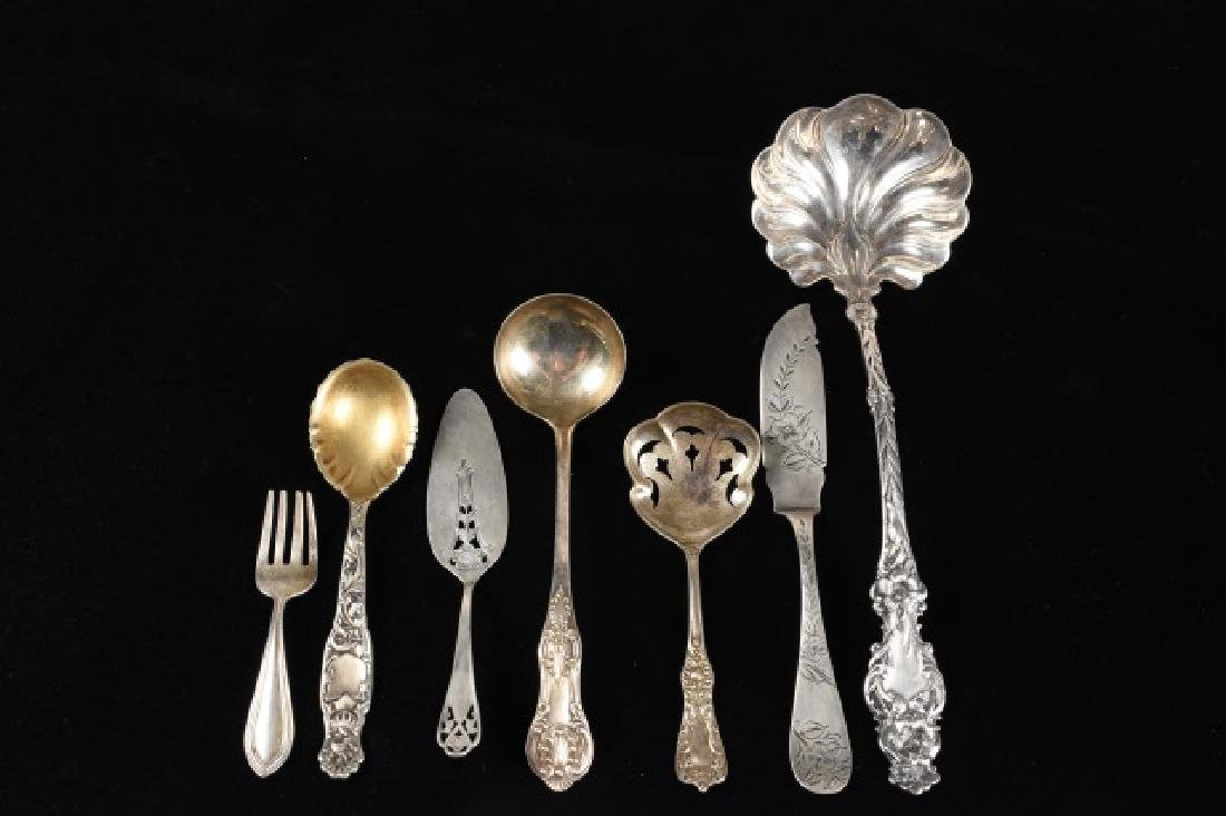 Assortment of Sterling Silverware
