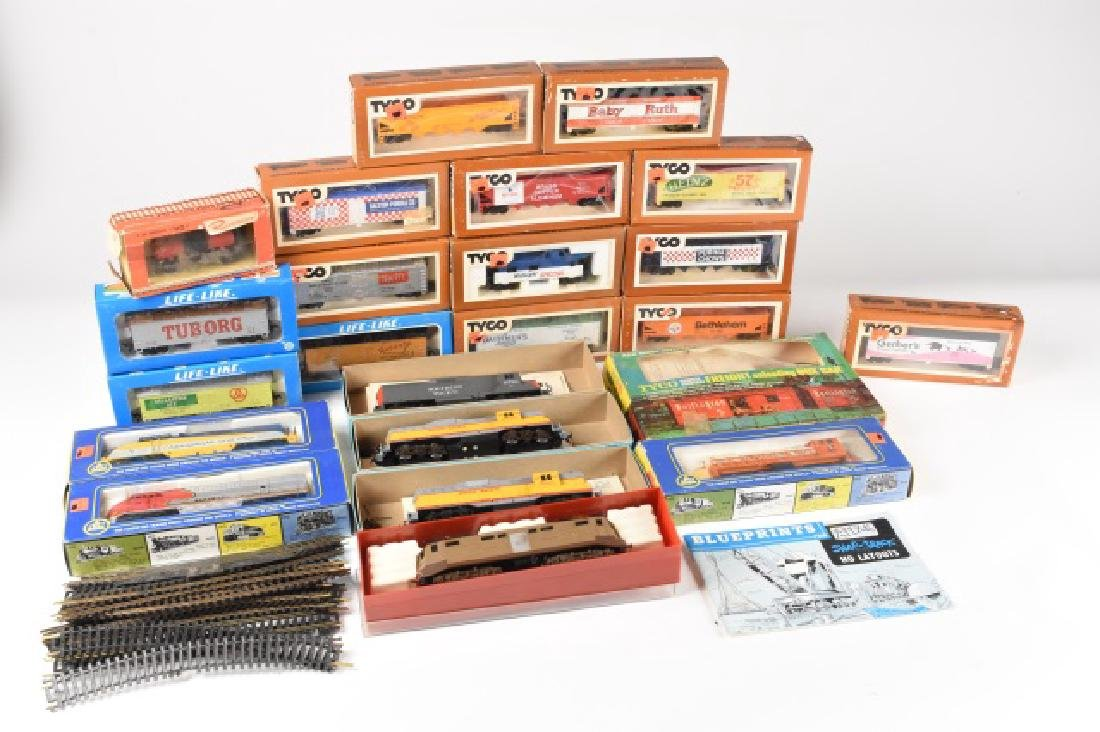 Collection of Model Train Cars HO Scale