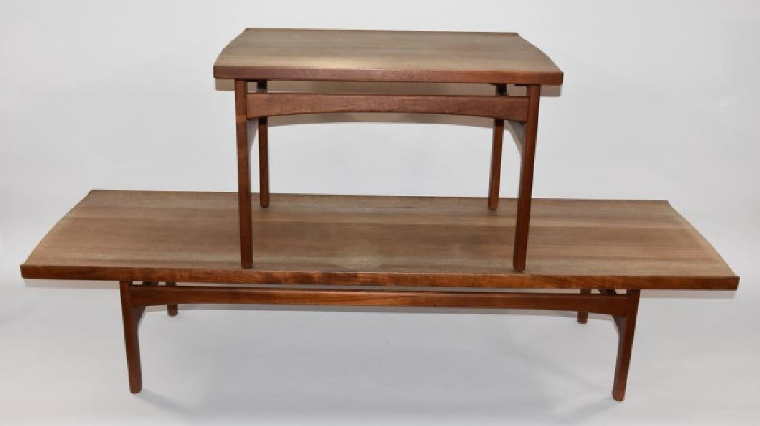 Dux Teak Coffee Table & Side Table 20th. C.