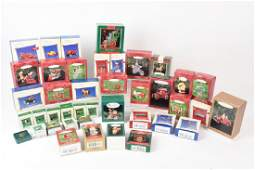 (40+/-) Hallmark Keepsake Christmas Ornaments