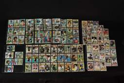 Late 70's to early 80's Topps football cards