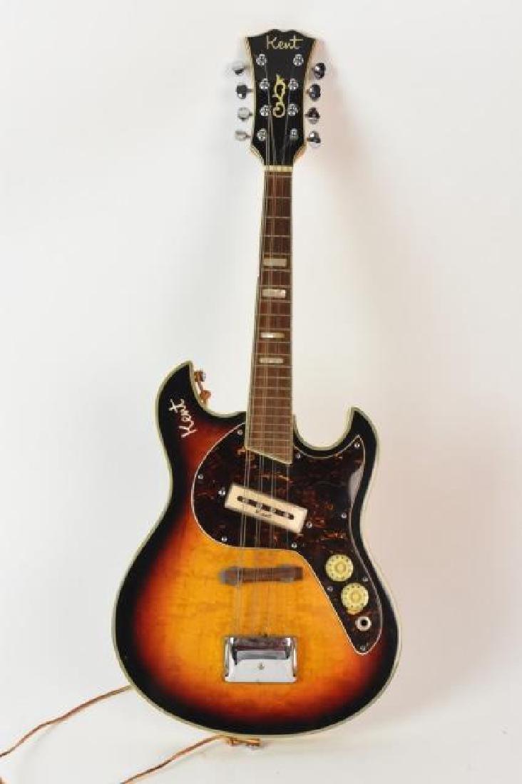Vintage Kent Electric Mandolin; Sunburst