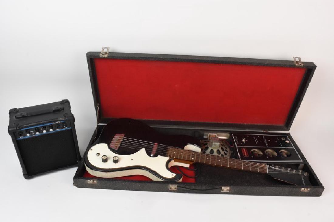 Vintage Silvertone 1448 Guitar & Amp
