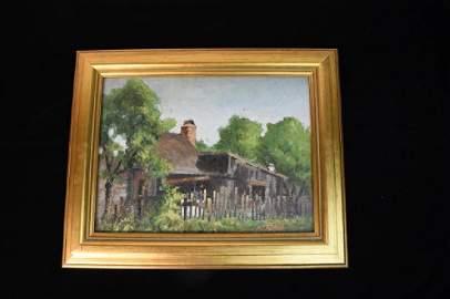 E.L. Winslow O/B Original Painting; SLR 1937