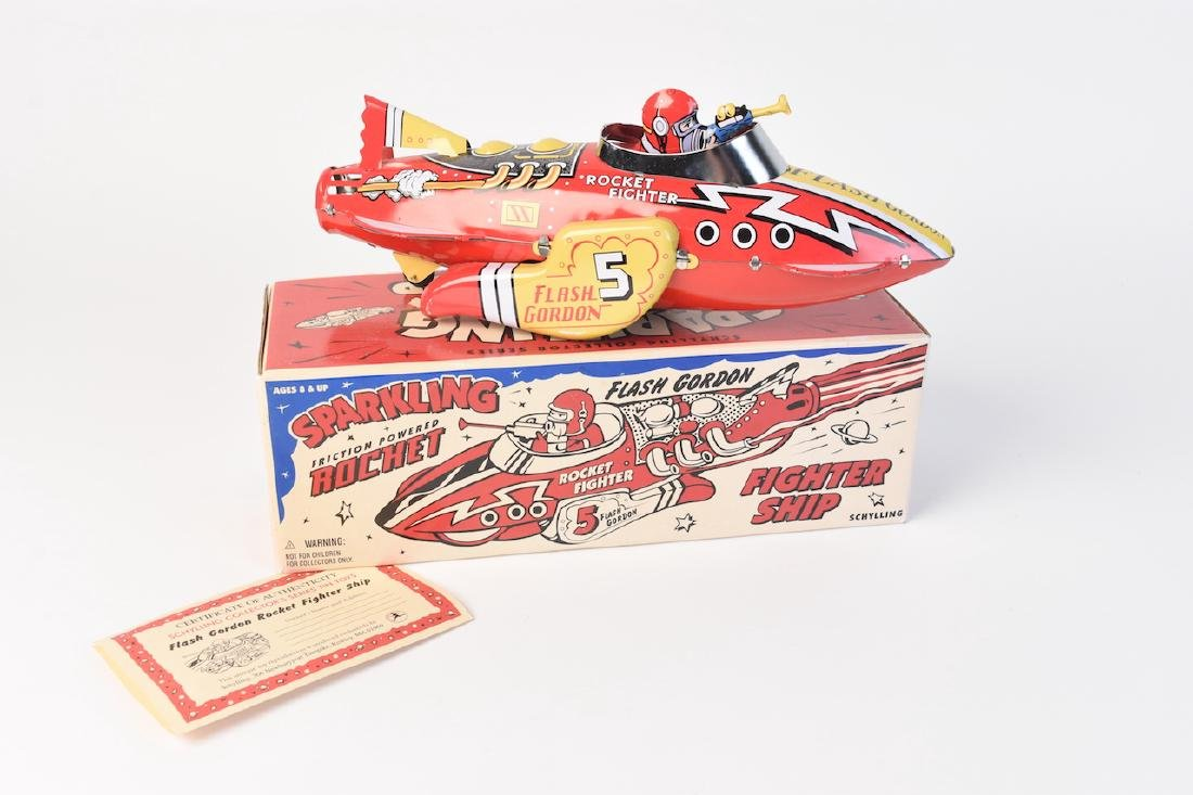 Flash Gordon Sparkling Rocket Fighter Ship