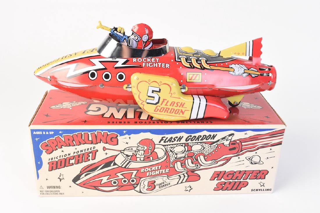 Flash Gordon Sparkling Rocket Fighter Ship - 3