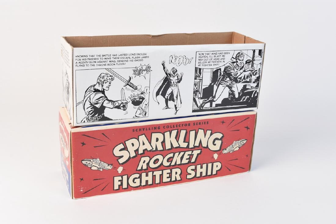 Flash Gordon Sparkling Rocket Fighter Ship - 5
