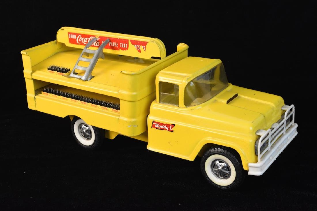 1960 Buddy L Coca Cola Delivery Toy Truck