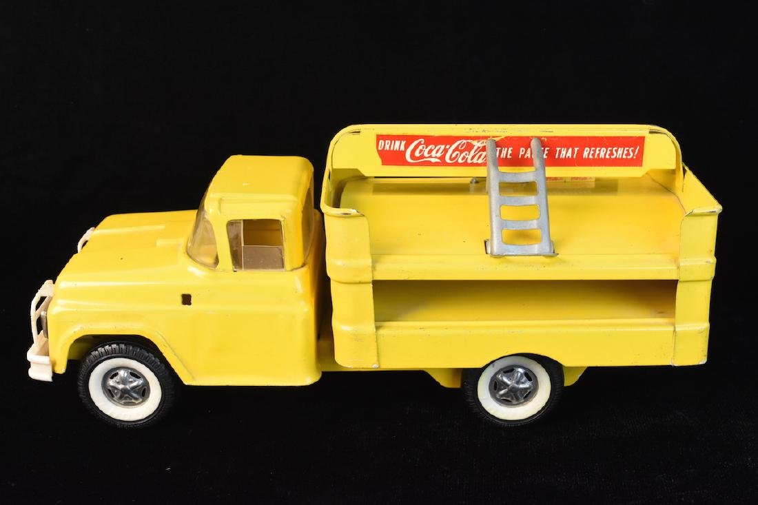 1960 Buddy L Coca Cola Delivery Toy Truck - 5