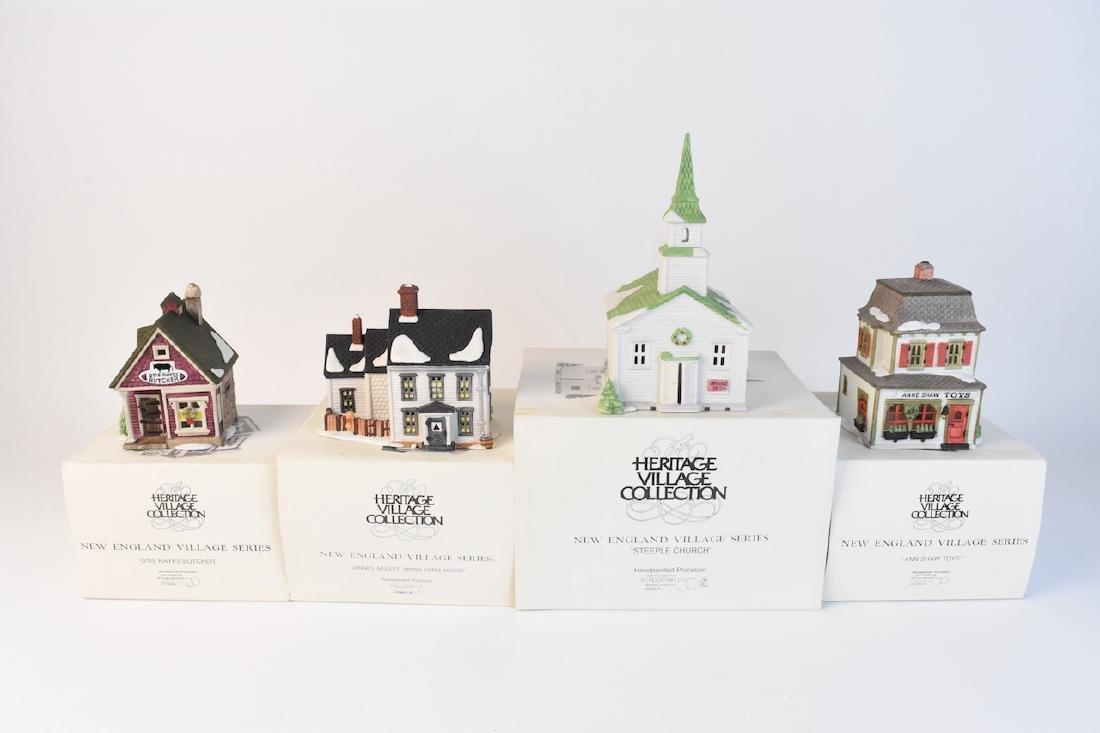 (4) Dept 56 New England Village Series - 2