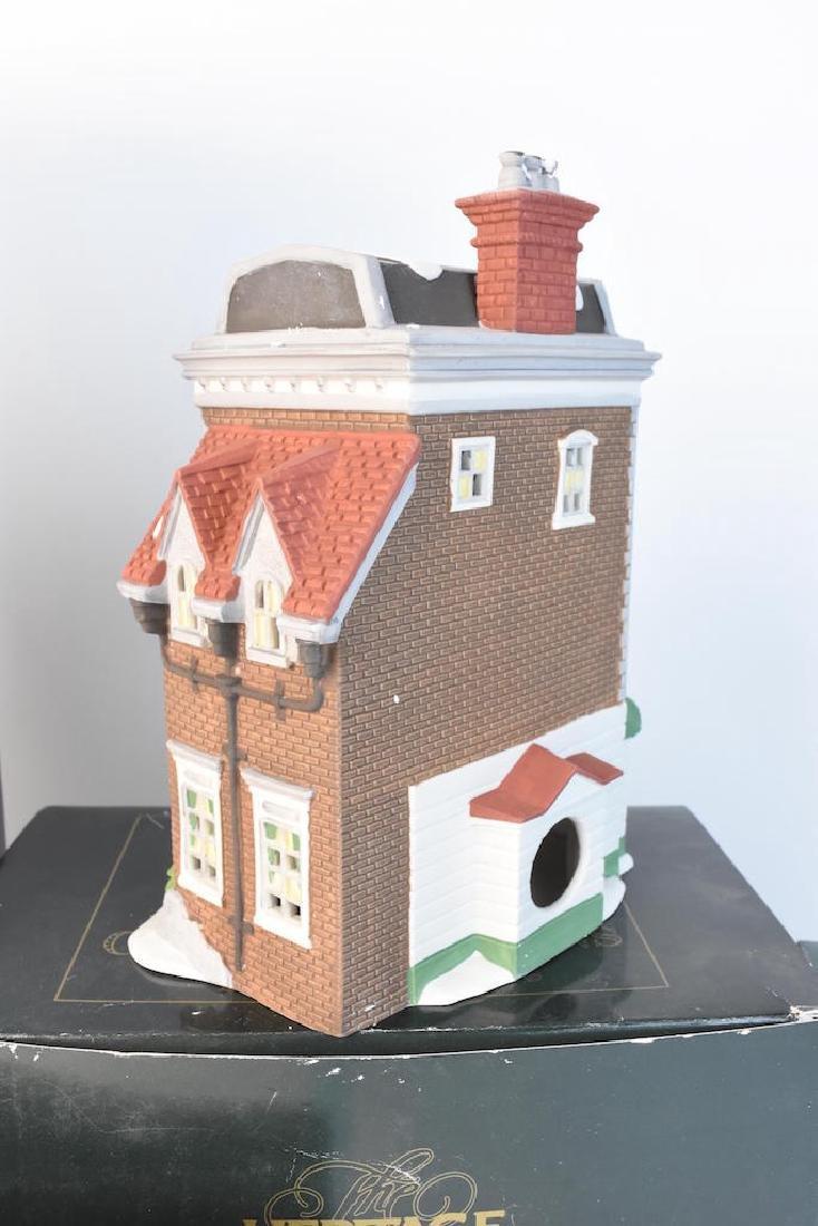 (4) Dept. 56 Christmas Dickens' Village Series - 2