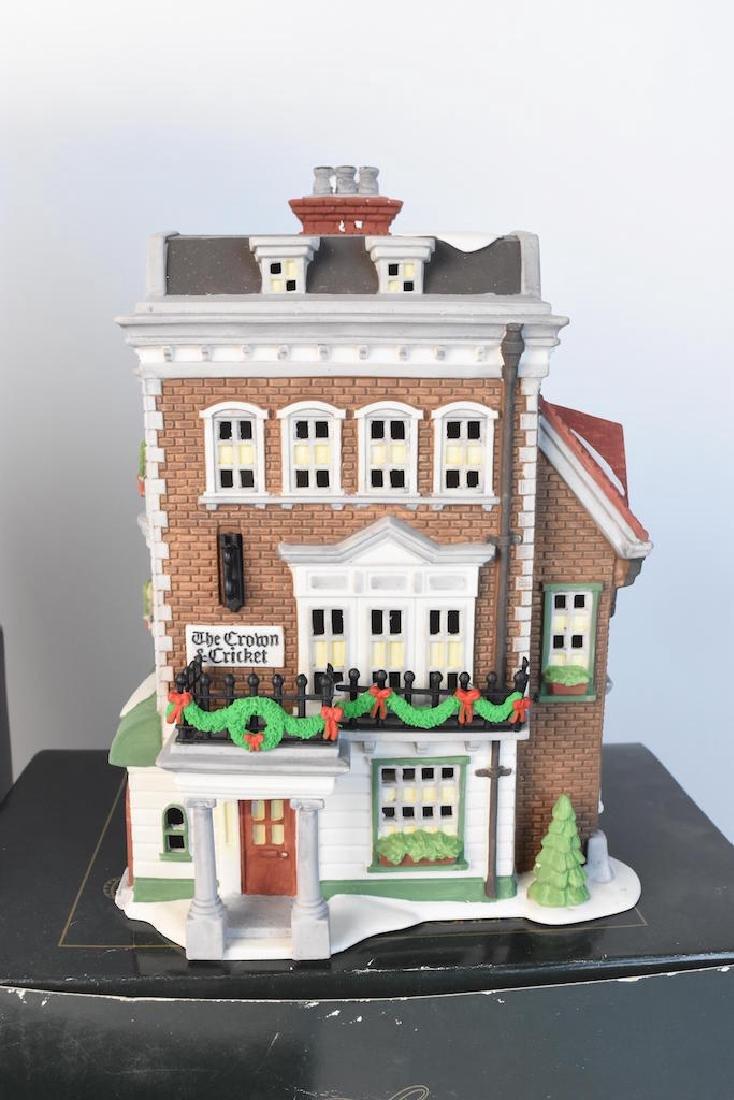 (4) Dept. 56 Christmas Dickens' Village Series - 3