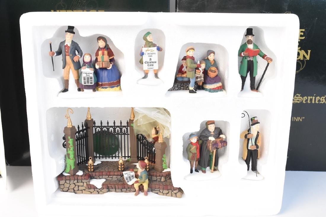 (4) Dept. 56 Christmas Dickens' Village Series - 6