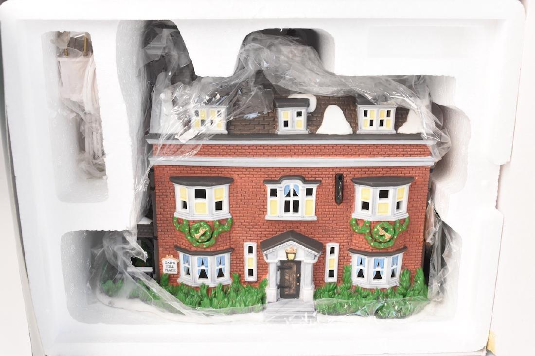 (4) Dept. 56 Christmas Dickens' Village Series - 7