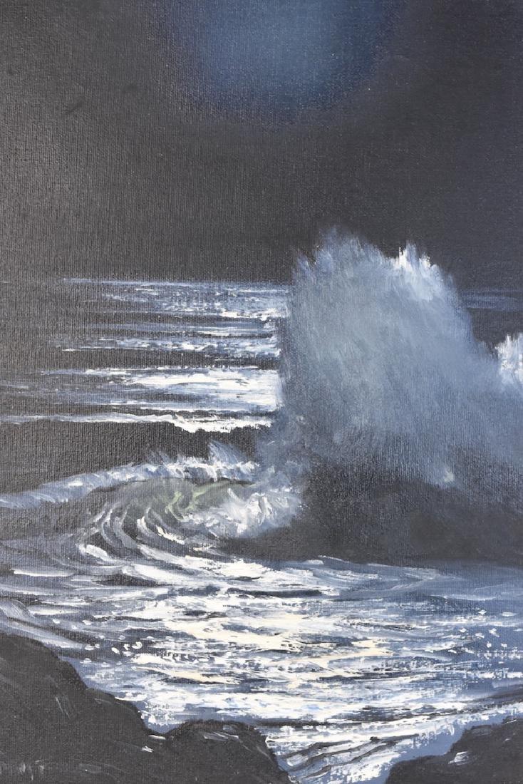 Original SLL Parkhurst Oil Painting; Moonlight - 7