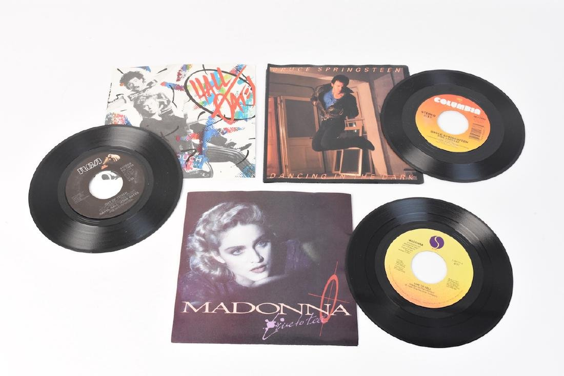 (38) Assorted 80's 45 Records With Sleeves - 5