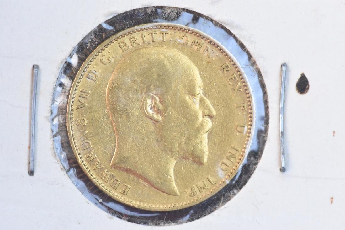 1905 U.K. Gold Sovereign Coin