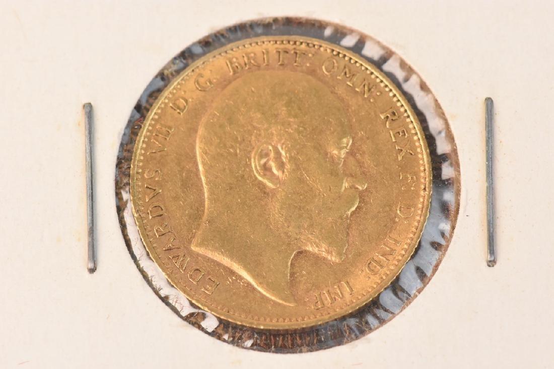 1904 U.K. Gold Sovereign Coin