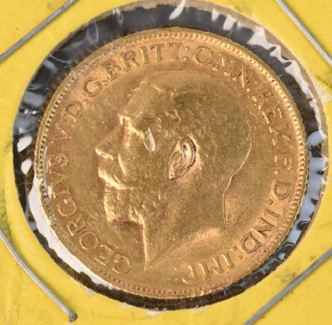 1912 U.K. Gold Sovereign Coin