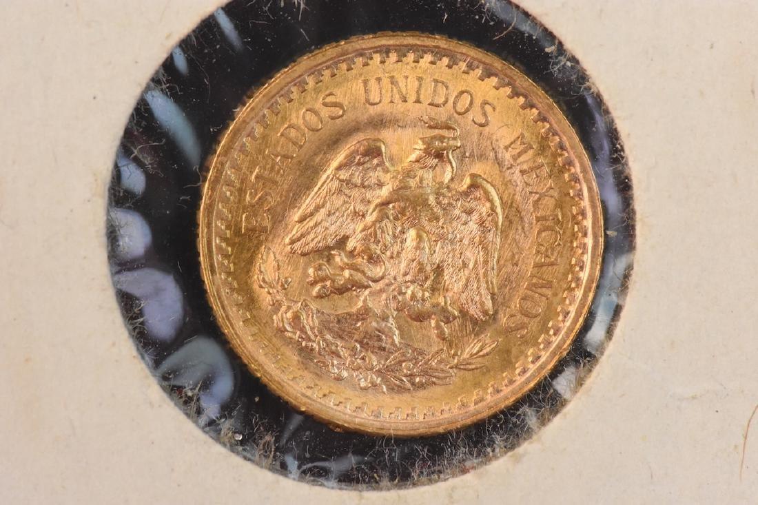 1945 2 1/2 Pesos Mexican Gold Coin - 3
