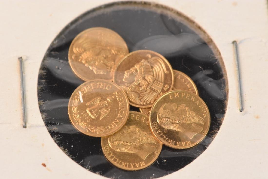 Small Gold Nugget & Several Gold Coins - 3