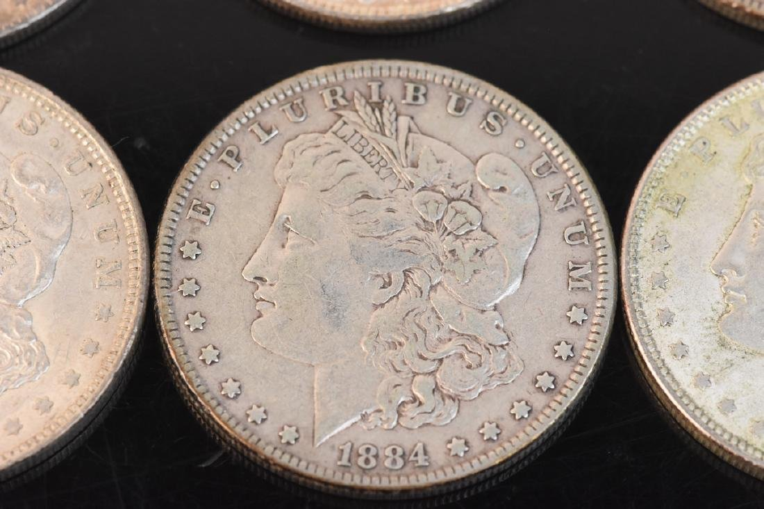 (20) Morgan Silver Dollar, various dates - 2