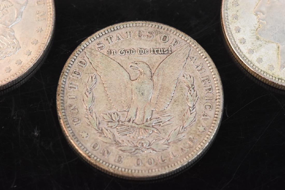 (20) Morgan Silver Dollar, various dates - 5